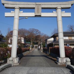 【東京】拝島日吉神社(2020年ひな祭り・桜前後半限定御朱印)