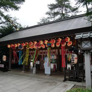 【千葉県】櫻木神社(2021年夏詣限定御朱印)