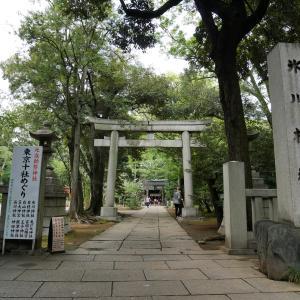 【東京】赤坂氷川神社(2020年例大祭限定御朱印)