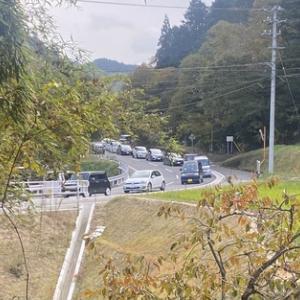 静かな多和が半端ない❗️ 1000m渋滞