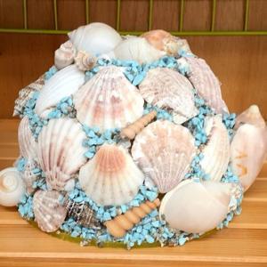 貝殻のオブジェ