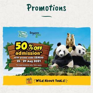 【50%オフ】River safari & Singapore zoo