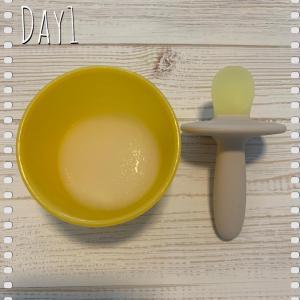 ︎5ヶ月離乳食︎離乳食day1-7