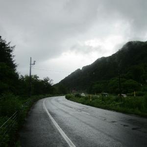 北海道again 4日目【定山渓−妹背牛】雨のため急遽輪行