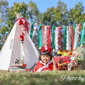 新作フォトブース『クリスマス de ピクニック』完成