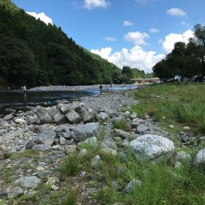 連日の束釣り:安曇川朽木