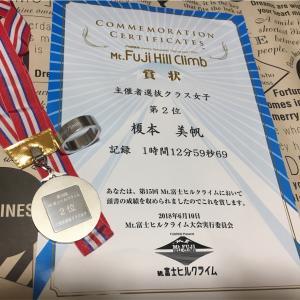 第15回 Mt.富士ヒルクライム 主催者選抜クラス女子