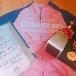 第16回Mt.富士ヒルクライム 主催者選抜クラス女子