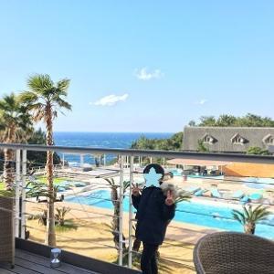 湯快リゾートプレミアムホテル千畳で天然温泉プールと無料カラオケを楽しむ~2020母子旅行⑤~