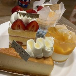 生菓子のケーキも美味しかったのか「グラマシーニューヨーク」@新宿