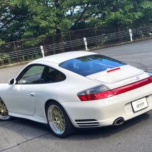 ポルシェ 911カレラ4S(996型)をインプレッション