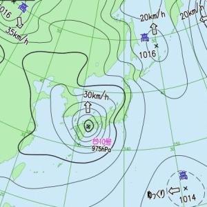 台風の中、高尾山ハイキング!