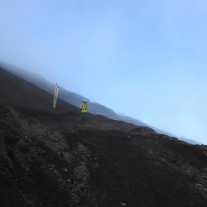 富士山登山吉田ルート 下山