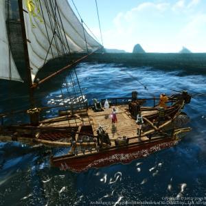 【ArcheAge】高速艇を造る。