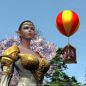 【ArcheAge】気球ジャンプ