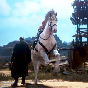 【黒い砂漠】馬放置と、【ArcheAge】ブロマン探索