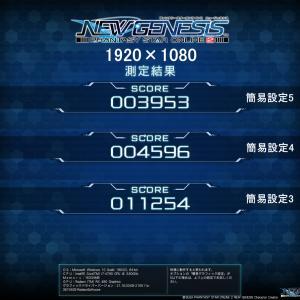 【PSO2NGS】ベンチマーク(Radeon RX480)