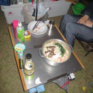 千葉にキャンプに行ってきた!!!③夕食編