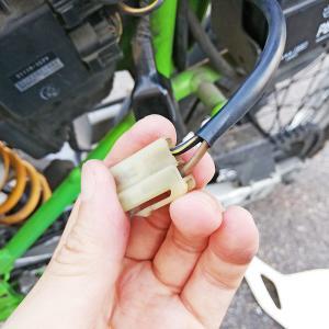 信州ツーリング2020夏2 現地でバイク修理
