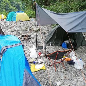 奥多摩でキャンプ!電車で行く氷川キャンプ場