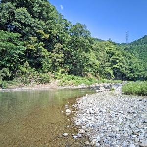 南秋川の源流で渓流釣り 2021南秋川釣行