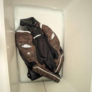 ライダースジャケットを洗う