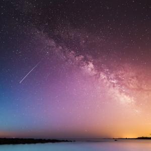 ユーカリレモンとペルセウス座流星群