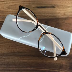 南浦洞の屋台で買ったメガネを日本で度入りメガネに♪