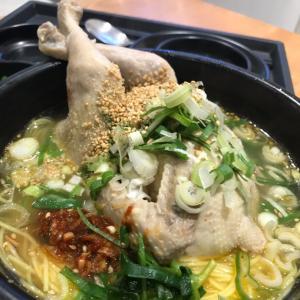 鶏が足を組んでる姿がたまらない(笑)| 釜山グルメ