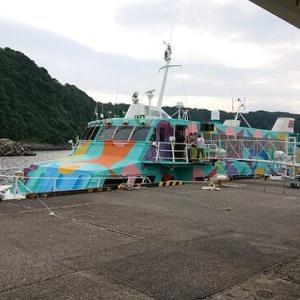 初めての伊豆大島ダイビング(2020.7.23~26)