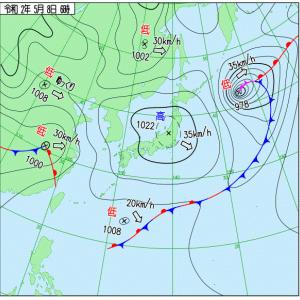 弧状列島,5/9(土) ベランダ気圧IoT「Internet of Things」は気象病要因の現在気圧情報を提供か