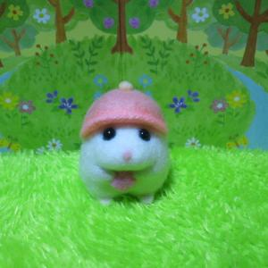 帽子ハムスター【うららちゃん】リメイク