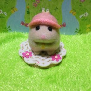 帽子キンクマ(ももちゃん)
