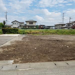 売り土地  高崎市新保田中町 建築条件なし 90坪