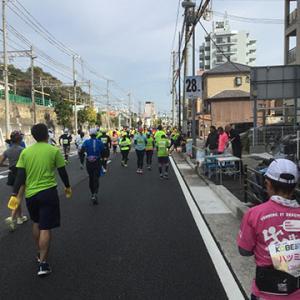 神戸マラソン2019 その5 38kmまで