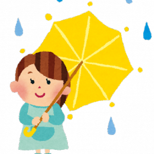 雨が降りそうな日の事務所対策