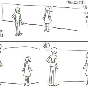 マンガ人体2・作画諸注意06:被写体とカメラの距離
