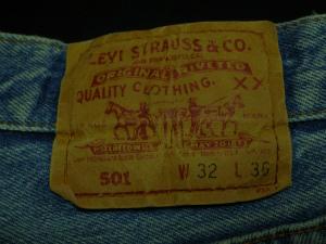 Levi's 501 1995年製 小さい擦れ2ヶ所 リペア