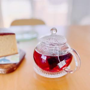 風のドライブ*紅茶の色と窯出カステラ。