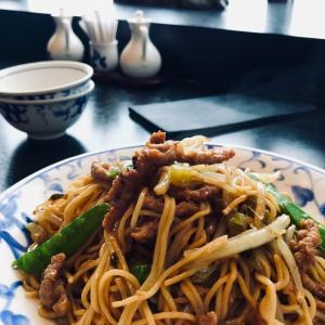 上海帰りの炒麺。
