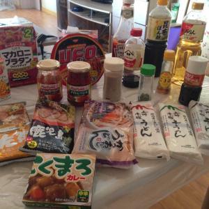 モンゴルで入手可能な日本の食べ物