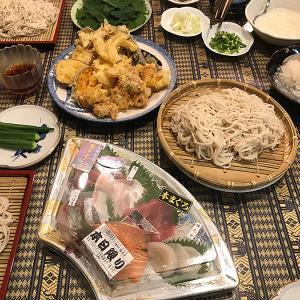 蕎麦の日は、どうしても作り過ぎてしまう「天ぷら」