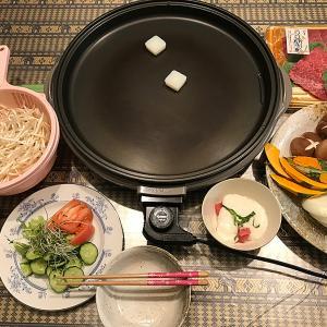 我が家では、5年ぶりになります「牛肉」と「野菜」の「鉄板焼き」