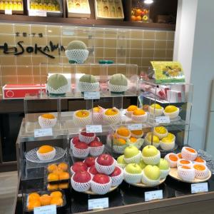 京都・下鴨 HOSOKAWA(ほそかわ) おっさんが、高島屋地下一階の高級フルーツ店に入り、マンゴーを食す~(゜o゜)