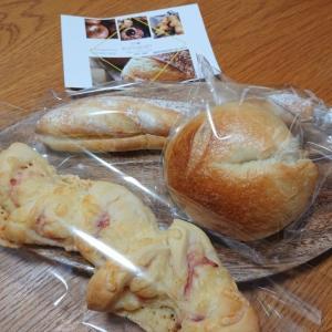 komapan(こまぱん)福岡市姪浜みのり荘のパン屋さんでミルクフランスとあんベーグル