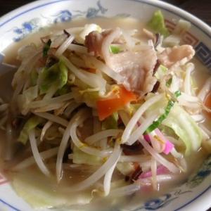 長崎亭 加布里店【糸島市】シャキシャキ野菜のちゃんぽんをスープまで完食しました