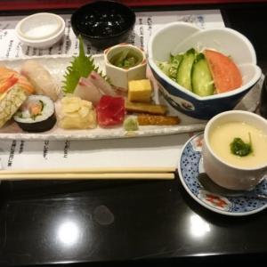 福岡市西区 寿司割烹たつきですしランチ コスパ抜群で店内の雰囲気も良く素材の一つ一つがうま~いです