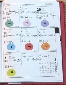 【英語学習記録】4/27〜5/3【1週間】