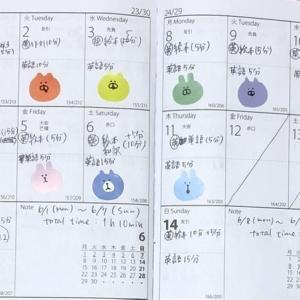 【英語学習記録】6/1〜6/14【2週間】