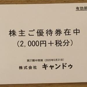 【株主優待】株式会社キャンドゥさんの株主優待が一昨日届きました